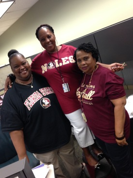 These ladies keep FSU Libraires functioning.
